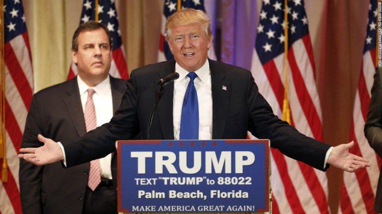 opțiuni binare Donald Trump câștigurile pe Internet pe opțiuni